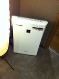 待合室の空気清浄機