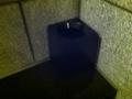 大浴場の洗い場ゴミ箱