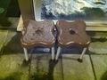 大浴場の補助椅子