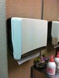 共用洗面所の紙タオル