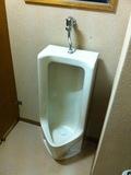共用トイレの小便器