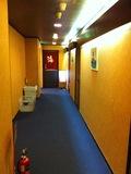 女湯入り口前廊下