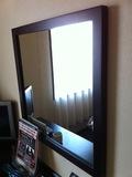 デスク前の鏡