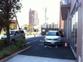 ホテルすぐ横の宿泊者用駐車場