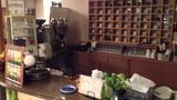 喫茶コーナーカウンター