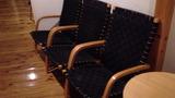 風呂前のロビーの椅子