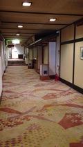 宴会場の廊下
