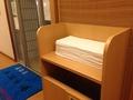 大浴場備え付けのバスタオル