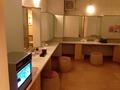 大浴場の洗面所