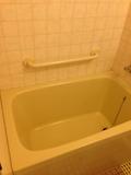 部屋の風呂 浴槽