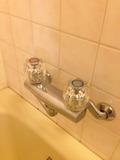 部屋風呂の浴槽用水道