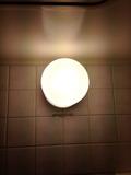 部屋の風呂の照明