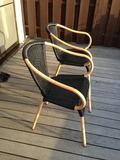 デッキ用の椅子