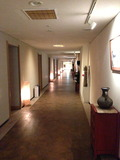 一階客室階の廊下