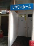 更衣室のシャワールーム