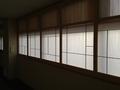 4階廊下の窓障子