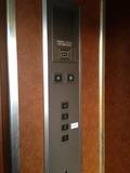エレベーターの操作板