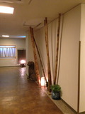 一階廊下のディスプレイ