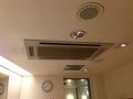 大浴場(洋風)脱衣所の空調