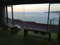 大浴場ラウンジスペースからの眺望