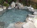 天空露天風呂「雲母」の浴槽