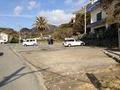 大和館の海岸前の駐車場