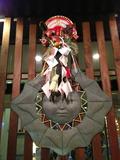 正面玄関の正月飾り