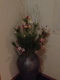 館内廊下の正月飾り