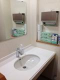 ロビー横トイレの洗面所