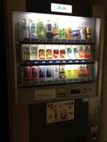 一階ロビーの自動販売機