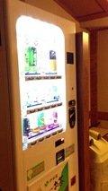 ソフトドリンクの自動販売機