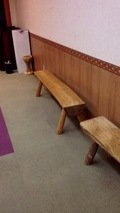 会議室のベンチ