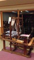 会議室の機織り機