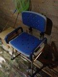 露天風呂の介護用椅子