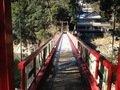 宿の近くにかかる橋(橋の上から)