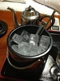 部屋で氷等を用意して下さいました。