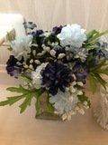 大浴場脱衣室の花