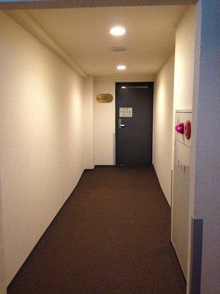 浴室棟に続く廊下(2階)