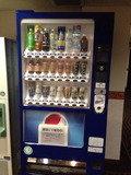 客室階の自動販売機
