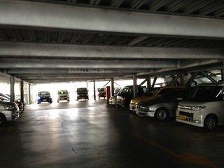 提携駐車場内部