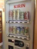 アルコール自販機(夜間は販売中止になります)