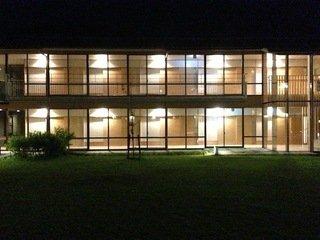 宿泊棟の夜景