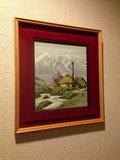 客室廊下の絵画