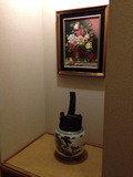 客室廊下のディスプレイ