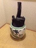 客室廊下の消臭用備長炭?