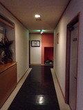 風呂への廊下