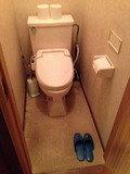 大浴場横のトイレ内部