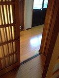 脱衣所の玄関