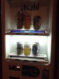 ロビーのアルコール自販機