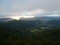 雲海テラスからの眺め